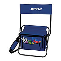 Folding Insulated 12-Can Cooler Chairs