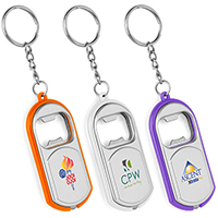 Big Beacon Light-Up Bottle Opener Keychains