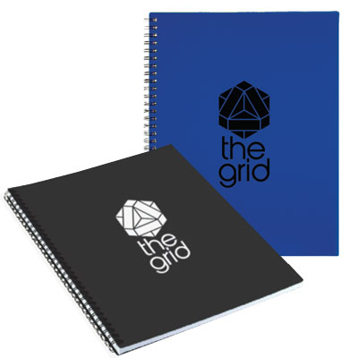 Large Business Spiral Notebooks - 10 x 11.5
