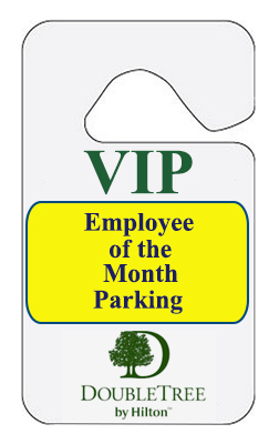 Standard Reflective Parking Permit Hang Tags - 2.75 x 4.75