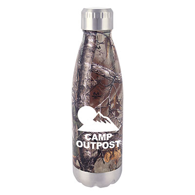 16 oz. Realtree Stainless Camo Bottles