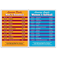 2-in-1 Sports Schedule Magnets