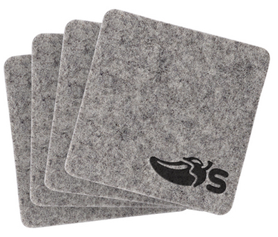 Recycled Felt Coaster Sets