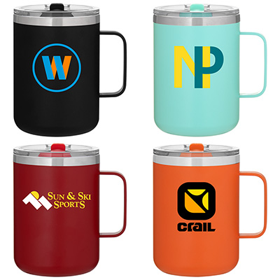 16.9 oz. Camper Stainless Steel Thermal Mugs
