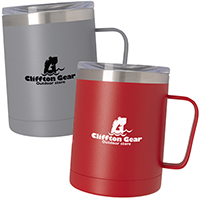 12 oz. Concord Stainless Steel Mugs