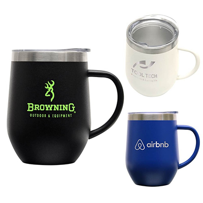 12 oz. Powder Coated Zen Mugs