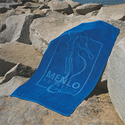 "Platinum Collection Color Beach Towels, 35"" x 70"""