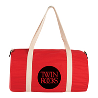 "Barrel 18"" Cotton Canvas Duffel Bags"