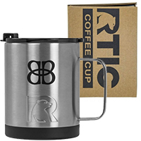 12 oz. RTIC Stainless Steel Coffee Cups