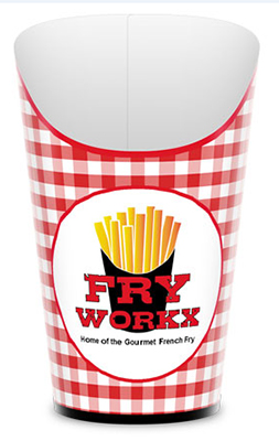 16 oz. French Fry Boxes - High Quantity