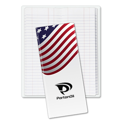 Oilfield Tally Books - American Flag