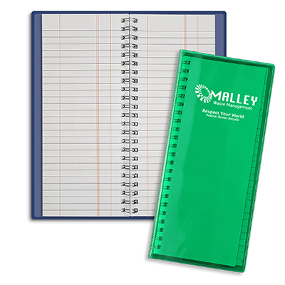 Wire-O Tally Books