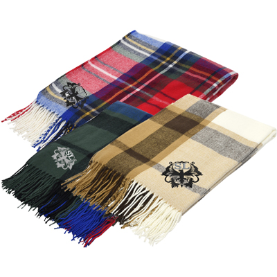 Manchester Fringed Throw Blankets