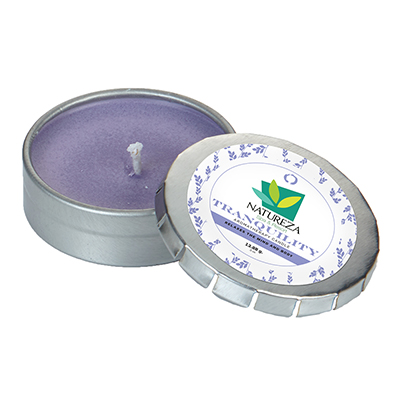 Essential Oil Infused Candles - Small Push Tin