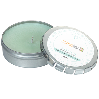 Essential Oil Infused Candles - Large Push Tin