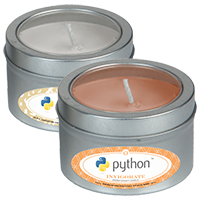 Essential Oil Infused Candles - Small Window Tin