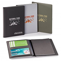 Wild RFID Passport Holders With Memo Booklet