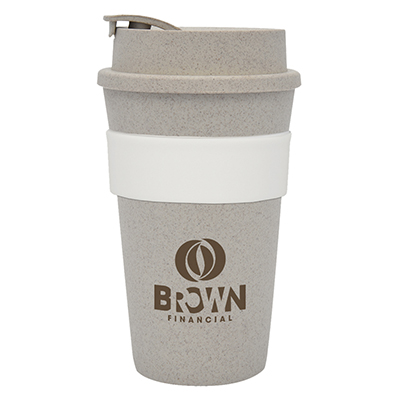 Wheat Straw Travel Tumblers - 16 oz.