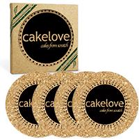Round Cork Coaster Sets