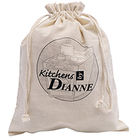 Cotton Canvas Shoe Bags
