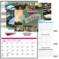 Custom Photo Calendar - Stapled