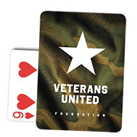 Camouflage Backed Playing Cards