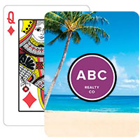Beach Background Playing Cards
