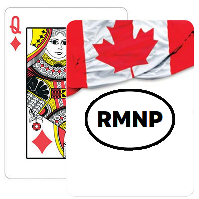 Canadian Flag Playing Cards