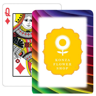 Rainbow Frame Logo Playing Cards