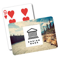 Wilderness Background Playing Cards