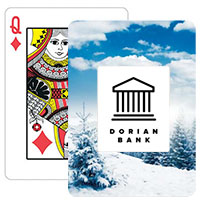 Winter Landscape Playing Cards