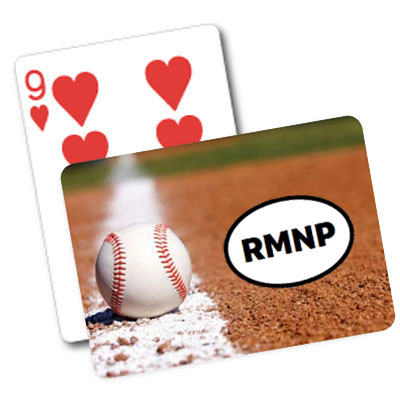 Baseball Theme Playing Cards
