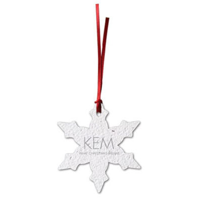 Plantable Snowflake Ornaments