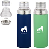 17 oz. Stainless Steel Tumblers with Tea Strainer