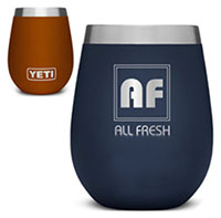 10 oz. YETI Rambler Wine Tumblers - Low Minimum