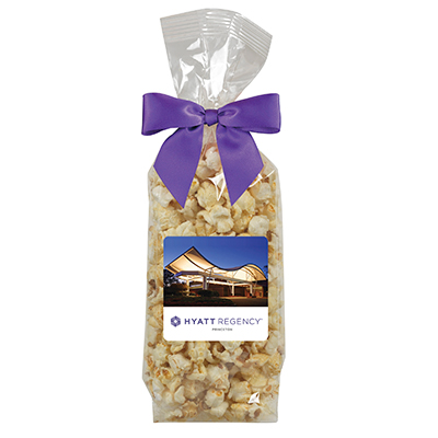 Popcorn Gift Bags With Bow - Kettle Corn