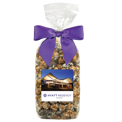 Popcorn Gift Bags With Bow - Cookies and Cream