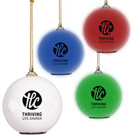 Color Changing LED Ornaments