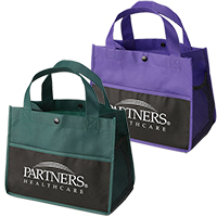 Mini Snap Non-Woven Lunch Totes