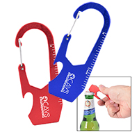 Everset Ruler/Bottle Opener Carabiners