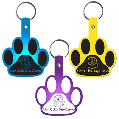Paw Shape Key Chains