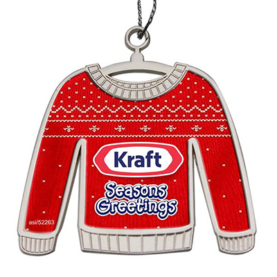 Die Cast Ugly Sweater Ornaments