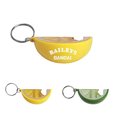 Lemon/Lime Bottle Openers with Keychain