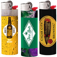 Bic Lighters – Full Color Sleeve