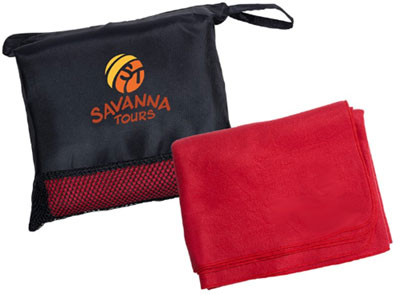 Travel Blankets in Pouch