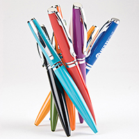 Brilliant Stainless Steel Ballpoint Pens