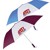 "Auto Open Folding Golf Umbrellas - 55"" Arc"