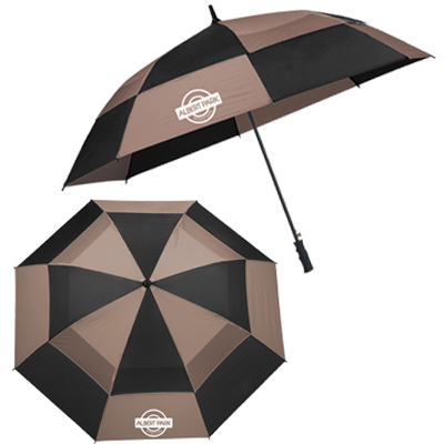"Totes Auto Open Vented Golf Umbrellas - 62"" Arc"