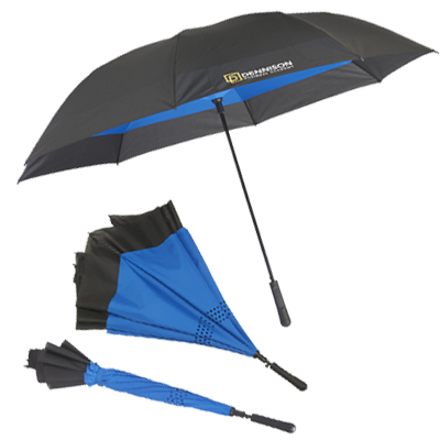 "Inversion Auto Close Golf Umbrellas - 58"" Arc"