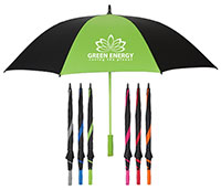 "Splash of Color Golf Umbrellas - 60"" Arc"